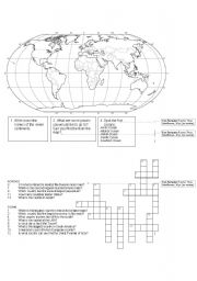 English Worksheets: Geography Quiz