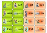 irregular verbs- memory game
