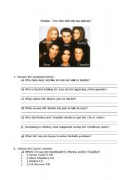 English Worksheet: Friends - the one with the tea sleeves