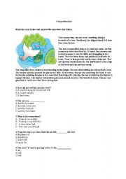 English Worksheets: The ant