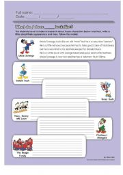 English Worksheets: What do they look like?