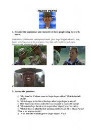 English Worksheets: Worksheet-2 for a film