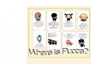 English Worksheet: Where is Pucca?