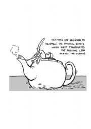 English Worksheets: Teapot or whatelse???