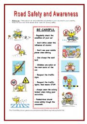 road safety essays children