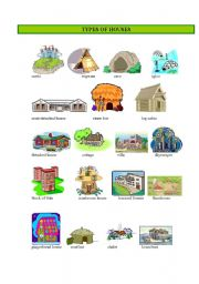 Types of housing lesson plans