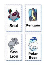 English Worksheets: Animal Cards - part 2