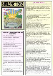 SIMPLE PAST TENSE    (2 PAGES)
