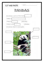 English Worksheets: PANDAS
