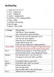English Worksheets: Gruffalo