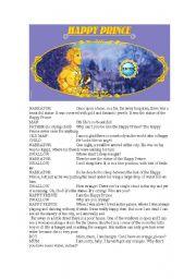 The Happy Prince Script
