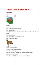 The Little Red Hen playscript