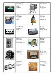 English Worksheet: Museum of technology - handout + multiple choice - first part