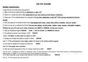English Worksheet:  EARTH DAY PART 3 (4 skills)