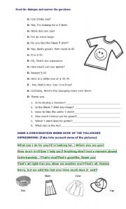 English Worksheet: Asking Prices II