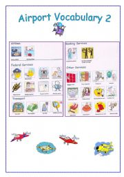 English Worksheet: AIRPORT vocabulary 2