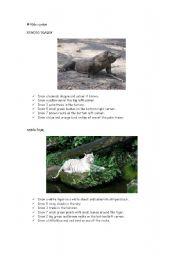 English Worksheets: Endangered animals