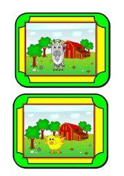 English Worksheets: Habitat cards (6/8) - animals