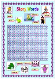 Story Words Wordsearch