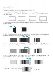 English Worksheets: Mutations Flip Book