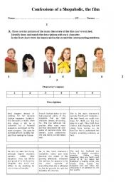 English Worksheet: Confessions of a shopaholic - Part 1