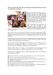 English Worksheet: Confessions of a shopaholic - Part 2