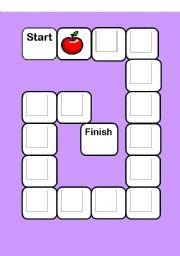 English worksheet: vowel game