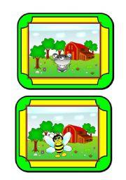 Habitat cards (8/8) - animals