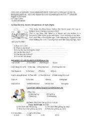 5th grade exam