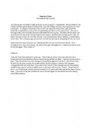 English Worksheets: detective work