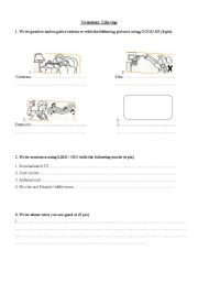 English Worksheets: Good at/Questions with IS and DOES
