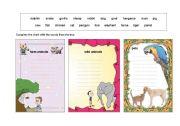 English Worksheets: Animals 2/2