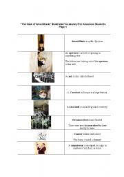 the cask of amontillado illustrated voc for advanced students page 1. Black Bedroom Furniture Sets. Home Design Ideas