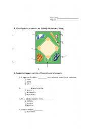 English Worksheet: Baseball Quiz
