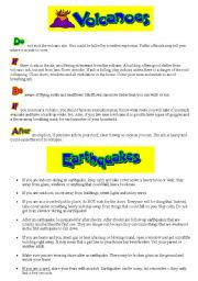 Printables Earthquakes For Kids Worksheets english teaching worksheets volcanoes and earthquakes