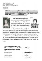 English Worksheets: QUEENS
