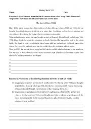 4 FREE ESL slavery worksheets