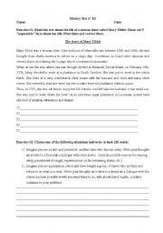 English teaching worksheets: Slavery