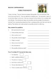 English Worksheets: The Present