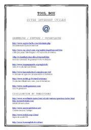 English Worksheets: useful websites