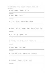 Printables Basic English Worksheets english worksheets questions basic conversation worksheet conversation