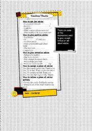 English Worksheets: Functional practice