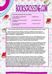 English Worksheets: Bookscrossing.com