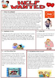 English Worksheets: PROBLEM PAGE- part 1