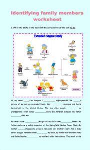 Identifying family members