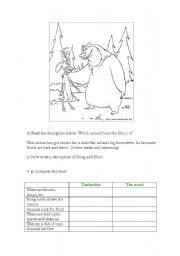 Open Season (3º part of worksheet)