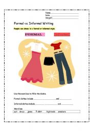 formal essay styles Formal essays favor objective language and concise sentences mastering formal essay styles can give you an advantage when social situations, such as employment interviews, demand control of formal writing.