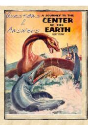 English Worksheet: Journey to the Centre of the Earth by Jules Verne Summary, Teaching Tips, Comprehension questions and model answers