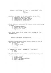 remember the titans discussion questions