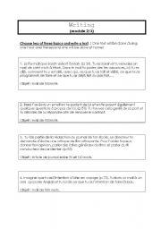English Worksheets: writing expression
